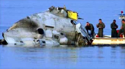 Marine Helicopter Crash